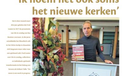 Artikel in Maassluise Courant De Schakel d.d. 23 december 2020